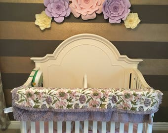 Set of 5 flowers for nursery decor