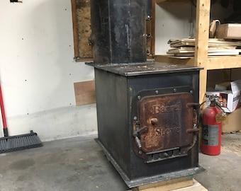 Batchbox rocket stove heater