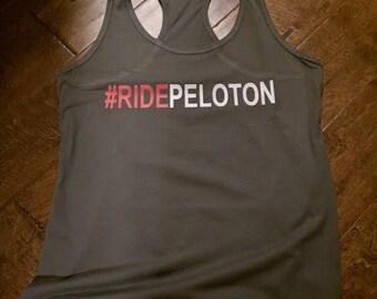 RIDEPELOTON - Racerback Tank