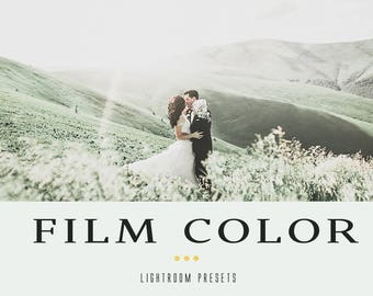 Film color professional lightroom presets
