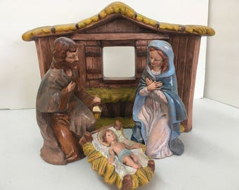 The Holy Family nativity