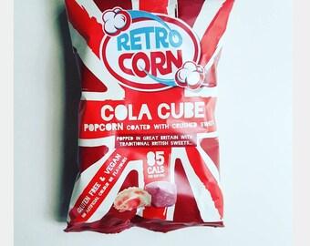 Vegan Gluten Free Flavoured Popcorn
