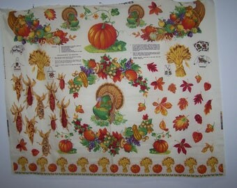 American Harvest-Appliques Project Panel