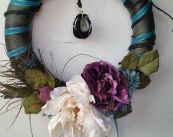 Agate Door Wreath