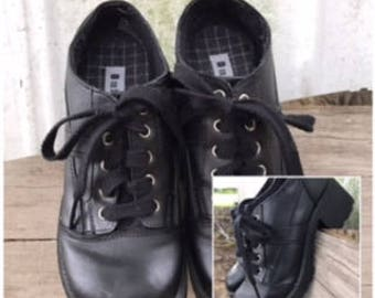 Chunky Black Shoes