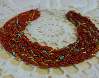 Otavalo woven beadwork