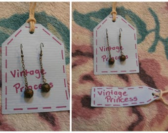 Long Antique Vintage Style Earrings