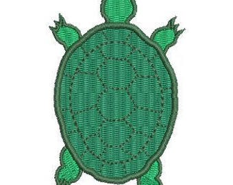 NeedleUp - Turtle embroidery design