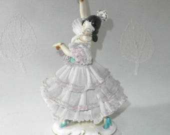AK Kaiser, Flamenco dancer/1940/50s/vintage/China/Germany
