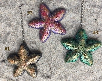 Starfish Fan Pull or Ornament