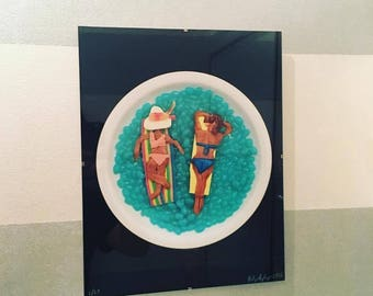 Limited Edition, Framed Chromogenic Prints of Food Art