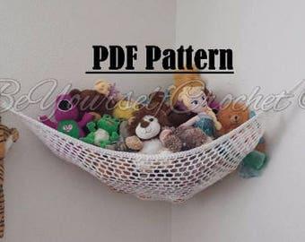 Crochet Toy Hammock PDF Pattern