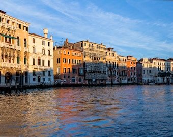 Venice afternoon  - original fine art photography print -  travel photography - wall decor - nature and landscape photography