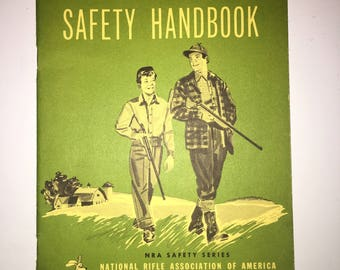 NRA Hunter Safety Handbook / NRA Safety Series 1957