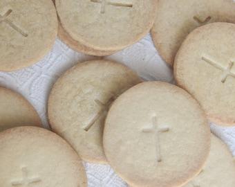 Shortbread Cross Cookies Dozen