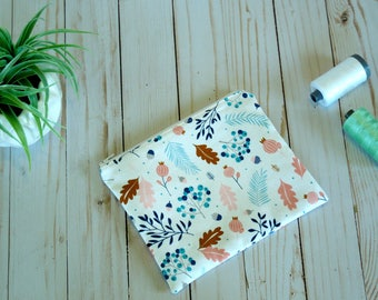 Small cosmetic bag/ Small zip pouch