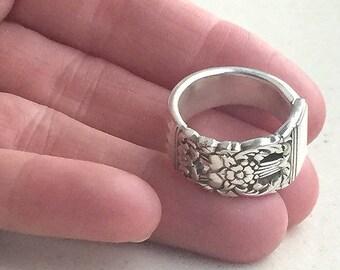 Custom Made Spoon Ring