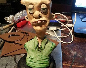 Lloyd's Lunchbox (Korn - Right Now) clay sculpt