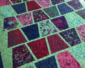 WINE SPRITZER,  queen quilt
