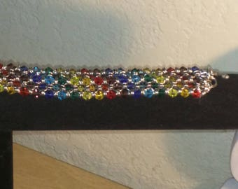 Rainbow glass mail