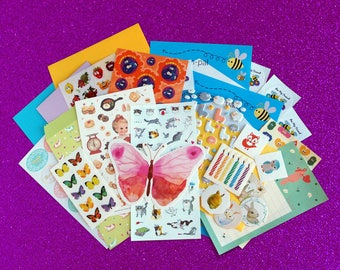 Sticker and Stationery Letter Writing Set