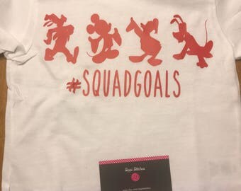 Mickey Mouse squad goals shirt
