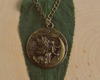 Magical Fairy Pendant Necklace