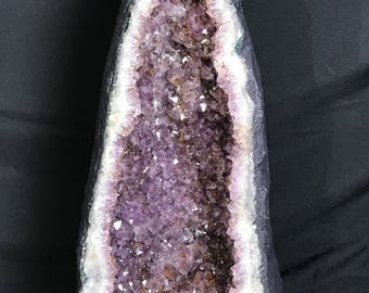 Amethyst Cathedral Geode Crystal
