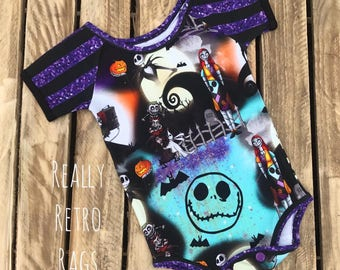 Baby Nightmare before Christmas romper / vest aged 3 months