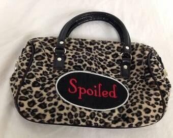 Spoiled cheetah bag