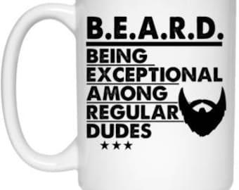Being Exceptional Among Regular Dudes 21504 15 oz. White Mug