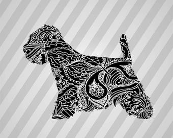 Dog Westie Silhouette - Dxf, Svg, Eps, Rld, Rdworks, Pdf, Png And Ai Print Files, Digital Cut, Vector File, Svg File