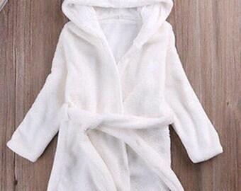 Baby & Toddler Dressing Gown, Bath Robe - Panda