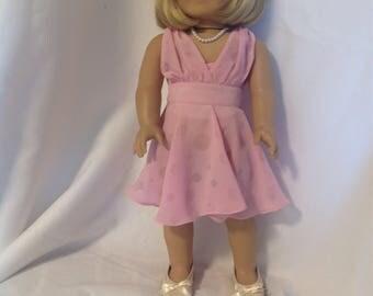 18 inch doll like American Girl and Maplelea 1950's Fancy Dress - QT Pie Clothing