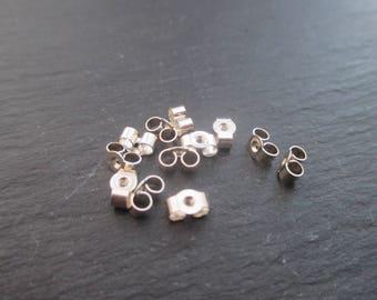 2 strollers for earrings in 925 Silver 5.5 mm