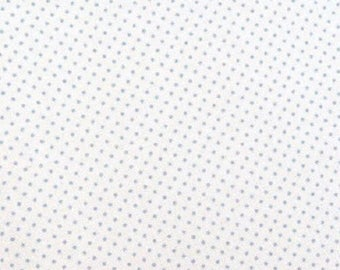 Fabric coupon 50/35 cm, TILDA, dots, mini blue patchwork 480423 spot