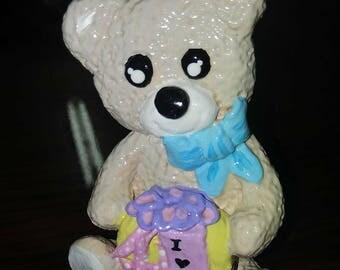 Polimer clay Bear