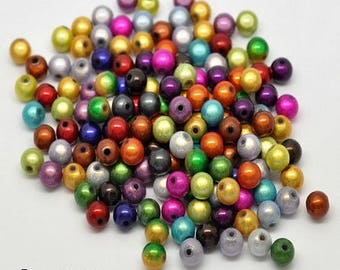 15 pearls magic effect sparkly 8 mm