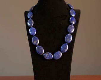 Natural Genuine Lapis Lazuli Necklace