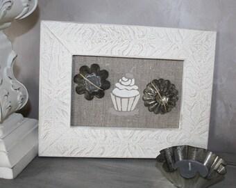Cupcake bakery theme frame
