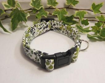 Liberty Ninataylor fabric dog collar