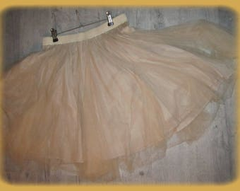 fullness and volume for the layered tulle petticoat