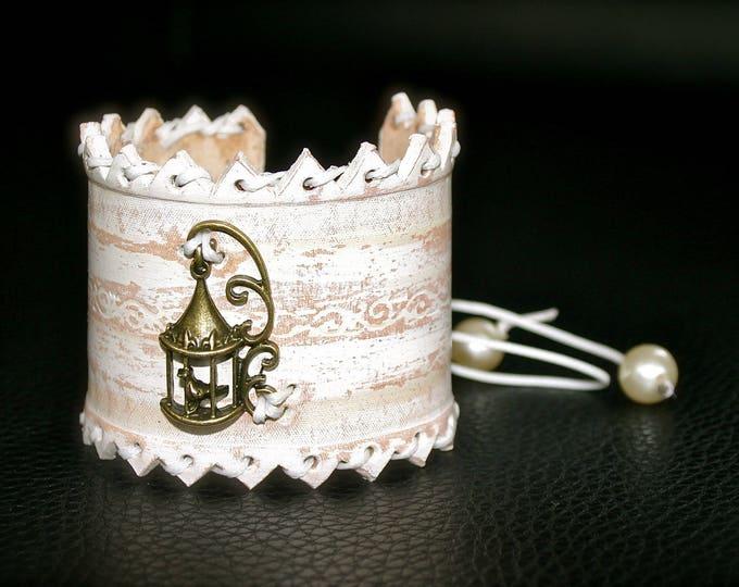 Bracelets for women girl series magical Elvish bird cage