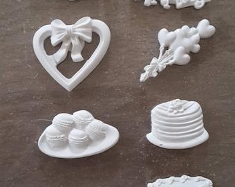Birthday Happy birthday plaster figurines