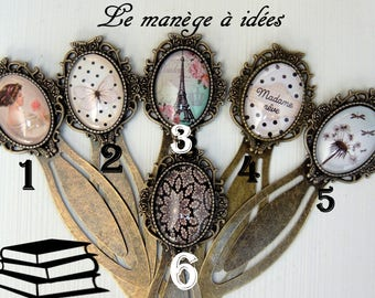 "Bookmark / paperclip / collection ""Madame ATOUCOEUR"" price"