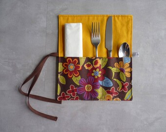 All cotton covered case flowers/mustard