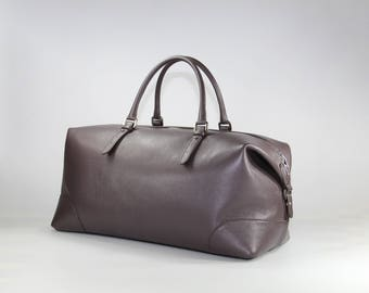 Bag Icon-cocoa-Fantine leather Workshops