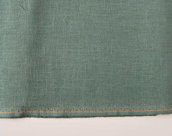 Coupon canvas embroidery Zweigart 10 lime green linen threads