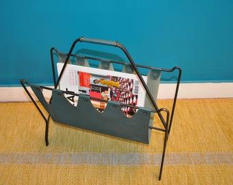Vintage magazine rack