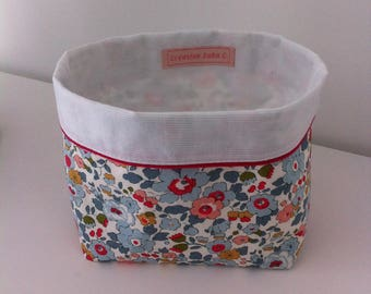 Decorative storage basket for baby or child's room